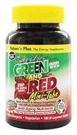 Source Of Life Green And Red Mini-Tabs With Anti-Aging Nutrients
