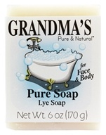 Remwood Products Co. - Grandma's Pure and Natural Lye Soap - 6 oz.