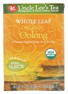 Whole Leaf 100% Organic Oolong Tea