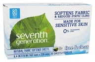 Natural Fabric Softener Sheets Free and Clear
