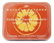 Enhanced Energy Formula Essential Oil Body Patches