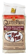 Gluten Free Creamy Brown Rice Farina Hot Cereal