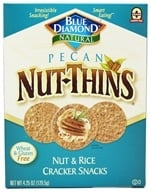 Pecan Nut-Thins Nut & Rice Cracker Snacks