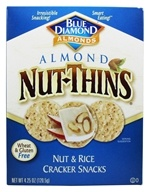 Almond Nut-Thins Nut & Rice Cracker Snacks