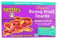 Organic Bunny Fruit Snacks Berry Patch