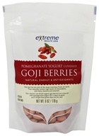 Goji Berries covered with Pomegranate Yogurt