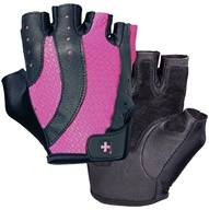 DROPPED: Harbinger - Women's Pro Lifting Gloves - Small Black/Pink - 1 Pair