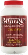 Batherapy Natural Mineral Bath Cold & Flu Salt