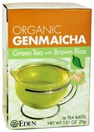 Organic Genmaicha Green Tea with Brown Rice
