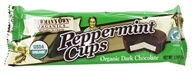 Peppermint Cups Dark Chocolate