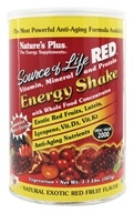 Source of Life Red Vitamin Mineral & Protein Energy Shake