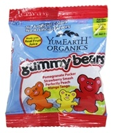 Organic Gummy Bears Snack Pack