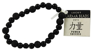 Karmalogy Lucky Karma Beads Bracelet Onyx Black Power Success