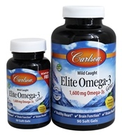 Norwegian Elite Omega-3 Gems Fish Oil Professional Strength