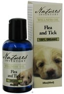 Wellness Oil 100% Organic Flea and Tick Formula For Dogs