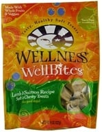 Wellbites Dog Treats Lamb & Salmon Soft & Chewy Recipe
