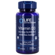 Vitamin D3 with Sea-Iodine