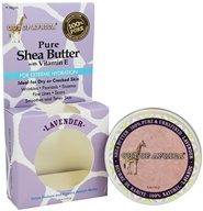 Organic Shea Butter Tin 100% Pure & Unrefined Lavender