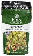 Organic Pistachios Shelled & Dry Roasted