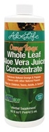 Whole Leaf Aloe Vera Juice Concentrate Orange Papaya