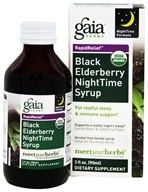 Rapid Relief Immune Support Black Elderberry NightTime Syrup