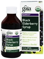 Rapid Relief Immune Support Black Elderberry Syrup
