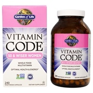 Vitamin Code RAW 50 & Wiser Women's Multi Formula