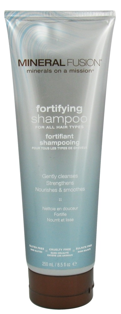Mineral Fusion - Shampoo Fortifying For All Hair Types - 8.5 oz.
