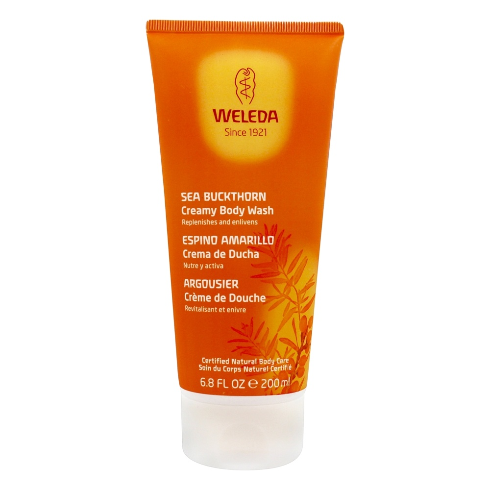 Weleda - Sea Buckthorn Creamy Body Wash - 6.8 oz.