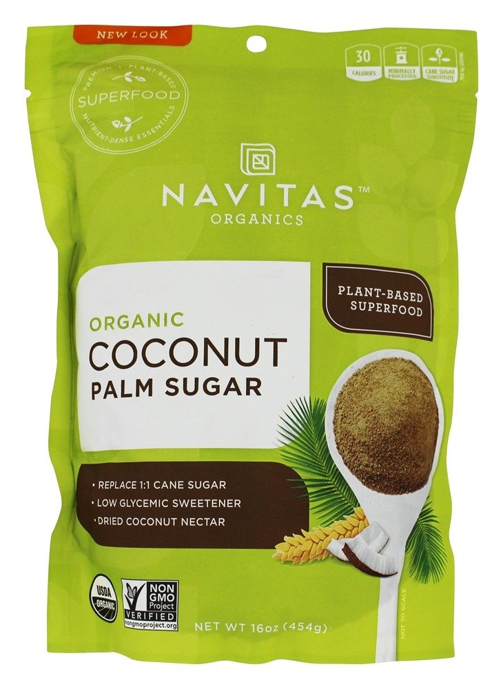 Navitas Naturals - Sweet Tooth Organic Coconut Palm Sugar - 16 oz.