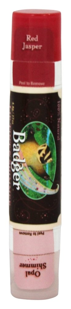 Badger - All Natural Mineral Lip Tint & Shimmer Red Jasper & Opal Shimmer - 0.17 oz.