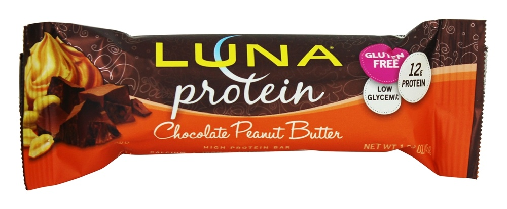 Clif Bar - Luna Protein Bar for Women Chocolate Peanut Butter - 1.59 oz.