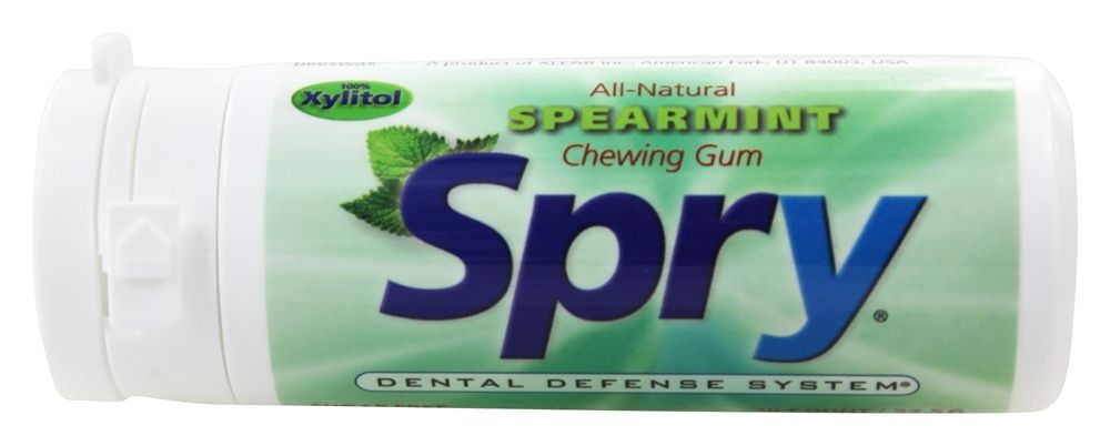 Xlear - Spry Chewing Gum with Xylitol Spearmint - 30 Piece(s)