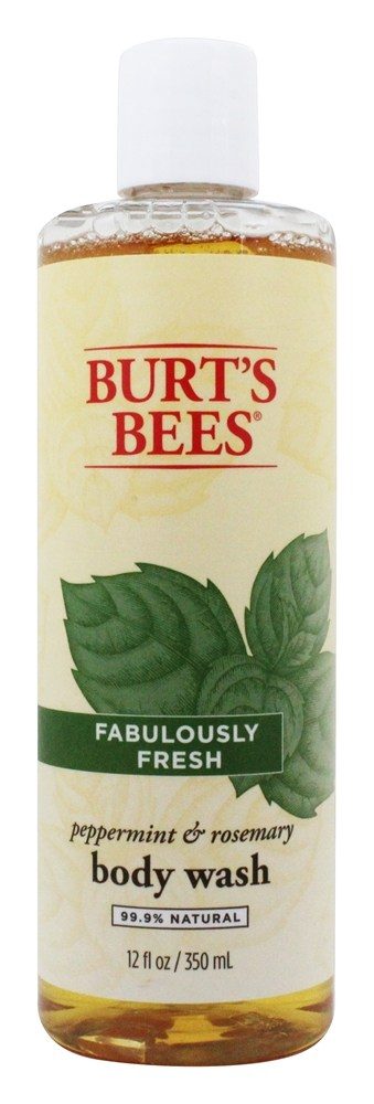 Burt's Bees - Body Wash Fabulously Fresh Peppermint & Rosemary - 12 oz.