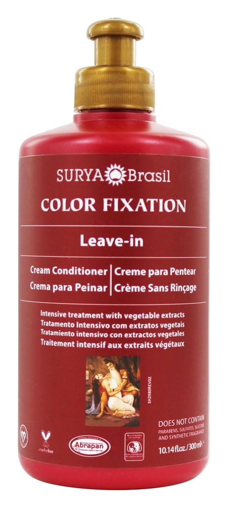 Surya Brasil - Henna Color Fixation Intensive Treatment Leave-In Conditioner - 10.14 oz.