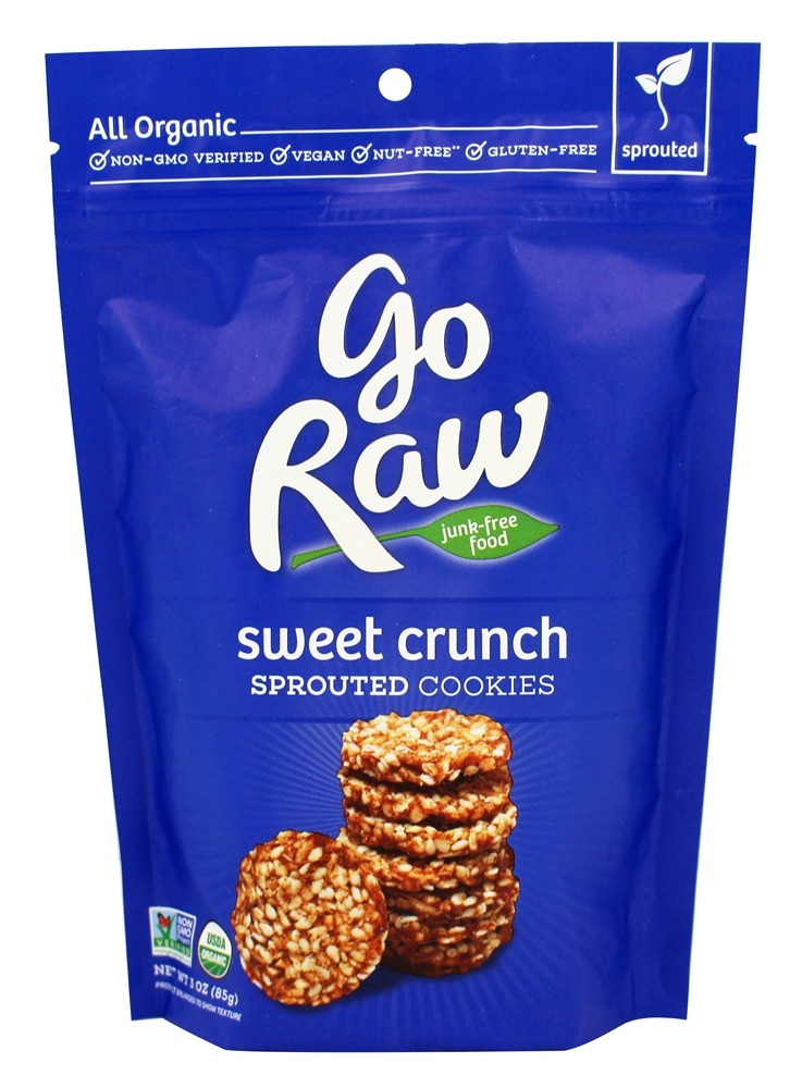 Go Raw - Sprouted Cookies Sweet Crunch - 3 oz.