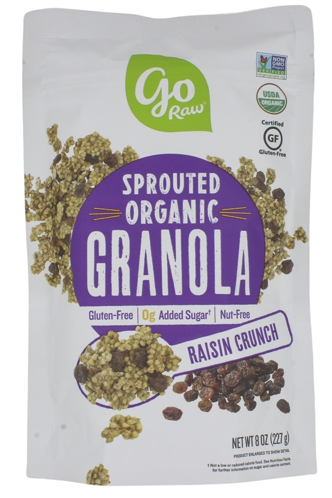 Go Raw - Sprouted Granola Raisin Crunch - 1 lb.