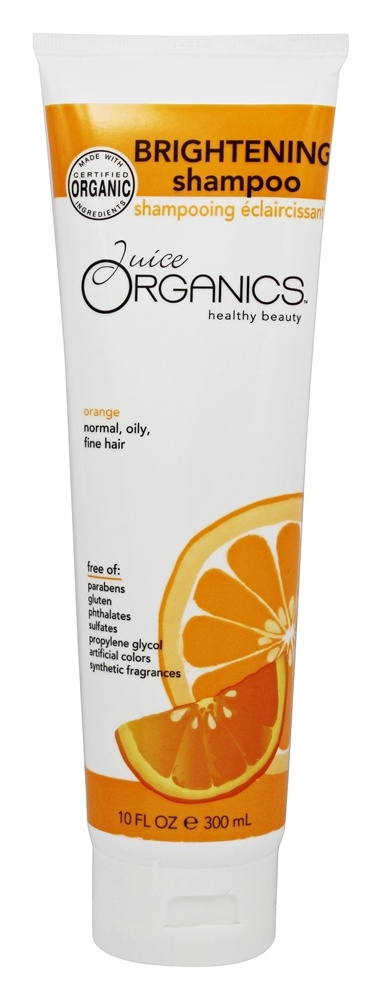 Juice Organics - Brightening Shampoo Orange - 10 oz.