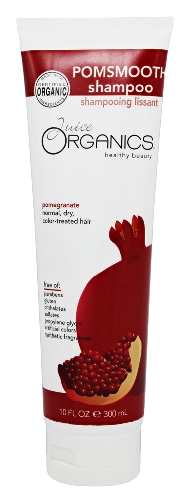 Juice Organics - PomSmooth Shampoo Pomegranate - 10 oz.