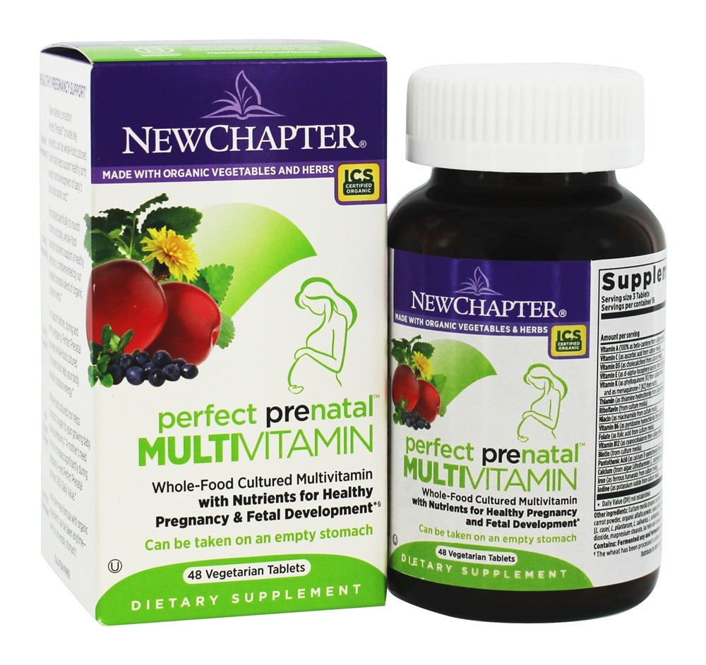 New Chapter - Perfect Prenatal - 48 Tablets