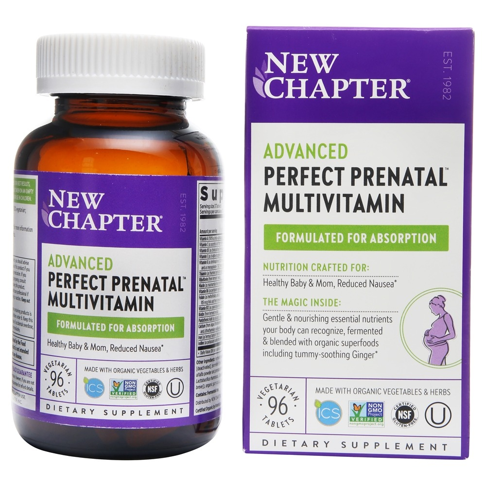 New Chapter - Perfect Prenatal - 96 Tablets