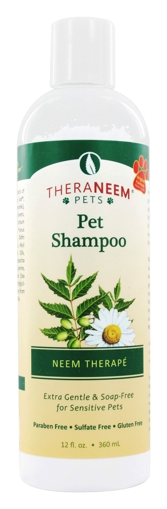 Organix South - TheraNeem Organix Pet Shampoo For Sensitive Pets Neem Therape - 12 oz.