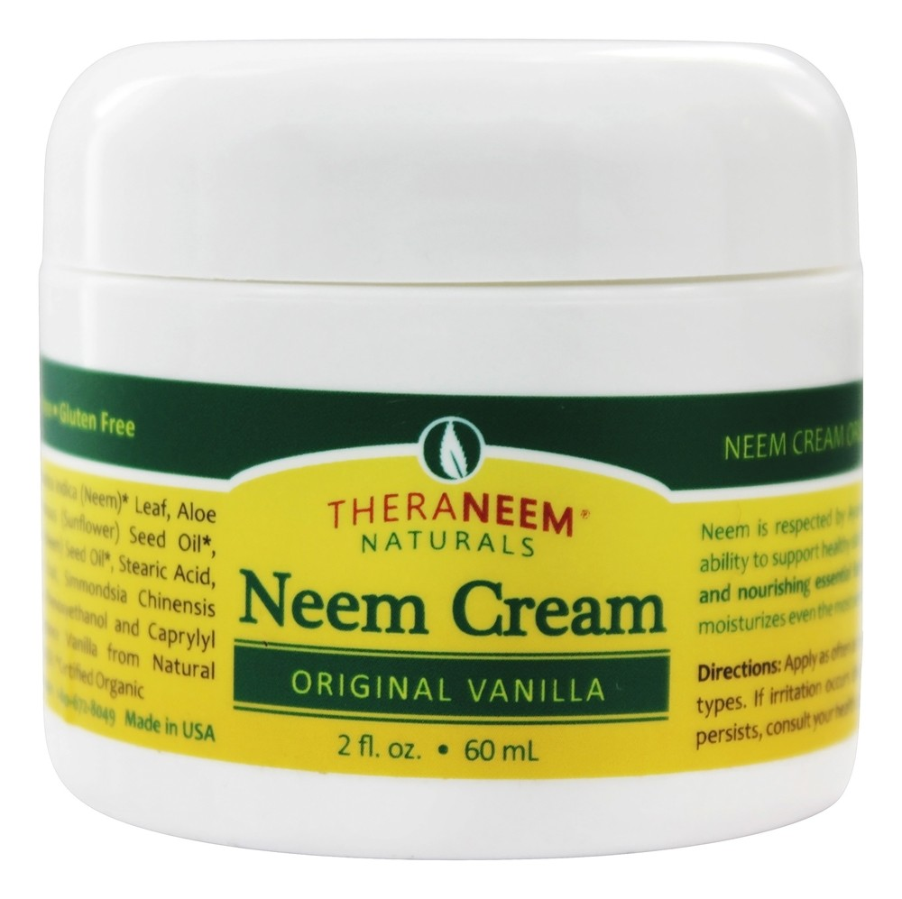 Organix South - TheraNeem Organix Neem Cream Original Vanilla - 2 oz.