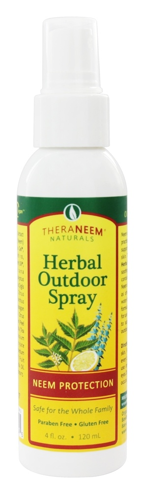 Organix South - TheraNeem Organix Herbal Outdoor Spray Neem Protection - 4 oz.