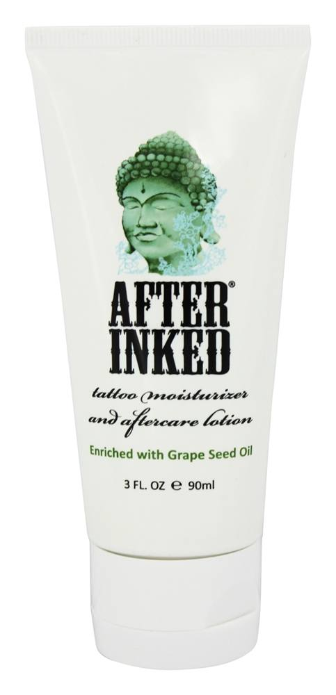 After Inked - Tattoo Moisturizer and Aftercare Lotion - 2.5 oz.