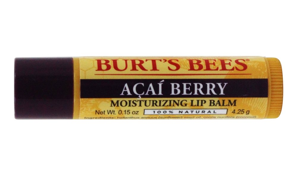 Burt's Bees - Lip Balm Rejuvenating with Acai Berry - 0.15 oz.