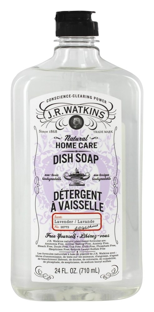 JR Watkins - Natural Home Care Dish Soap Lavender - 24 oz.