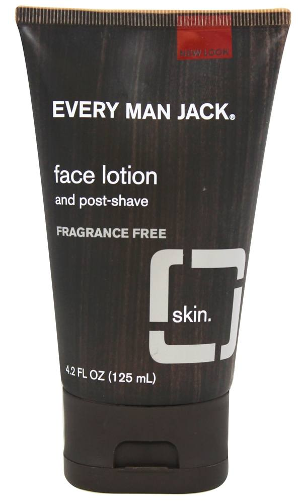 Every Man Jack - Face Lotion and Post-Shave Fragrance Free - 4.2 oz.