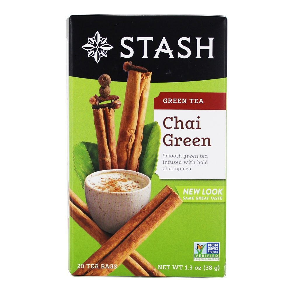Stash Tea - Premium Chai Green Tea - 20 Tea Bags