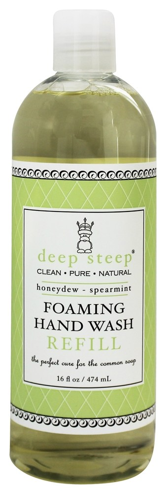 Deep Steep - Foaming Hand Wash Refill Honeydew-Spearmint - 16 oz.